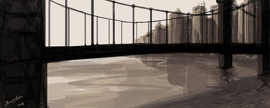 City Bridge by Sasank Gopinathan