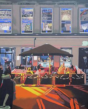 City Cafe by Malcolm Warrilow