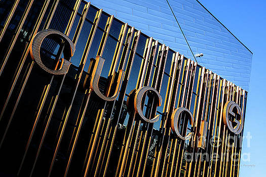 City Center Gucci Sign  by Eric Evans