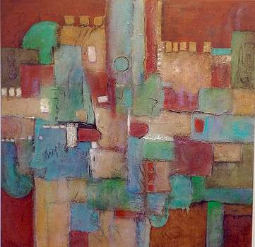 City Center Two by Mary Jean Henke