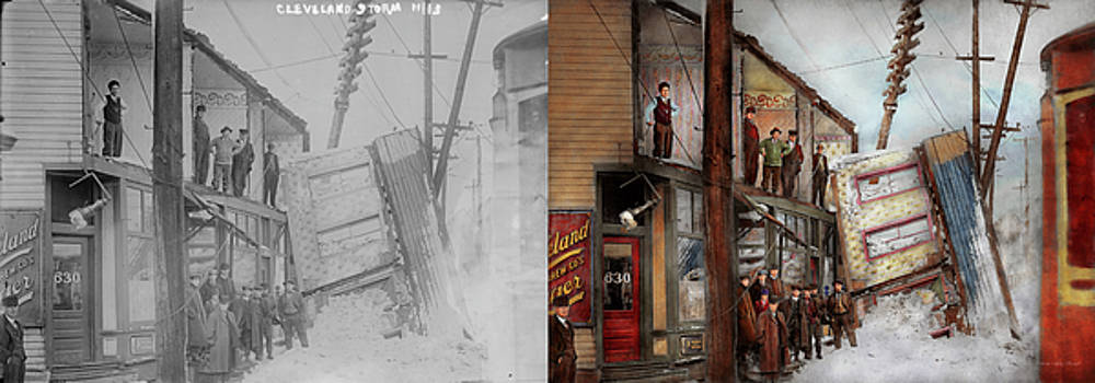 City - Cleveland OH - Open house 1913 - Side by Side by Mike Savad