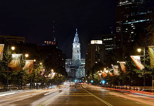 City Hall from the Parkway by Jennifer Ancker