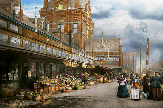Mike Savad - City - Kansas City farmers market - 1906