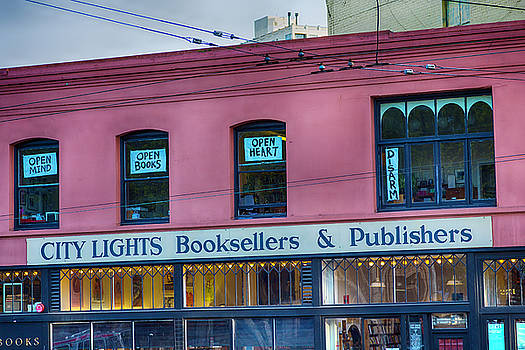 City Lights Booksellers by Garry Gay