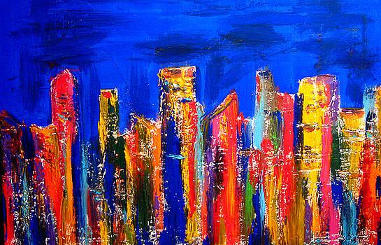 City Lights by Henry Parsinia