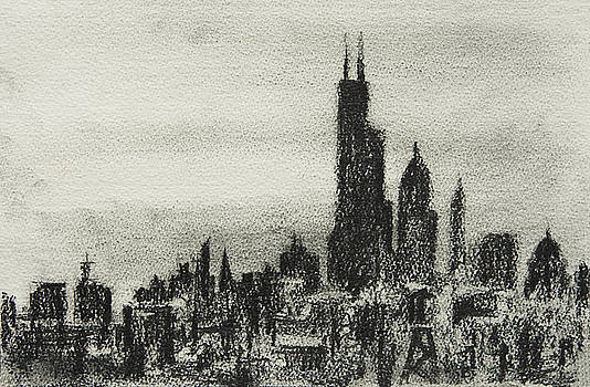 City Love I by Rachel Christine Nowicki