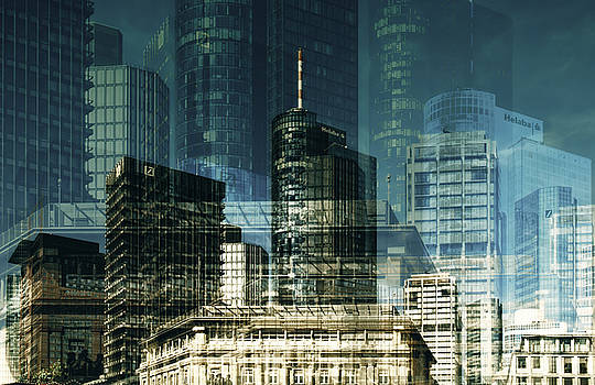 city of Frankfurt by Claudia Moeckel