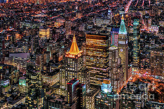 City of Lights - NYC by Rafael Quirindongo