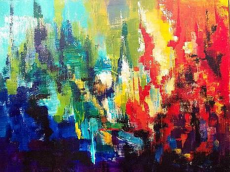 City Rain by Jane Robinson