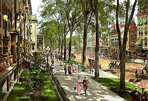 Mike Savad - City - Saratoga NY -  I would love to be on Broadway 1915