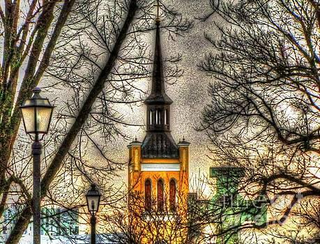 City Tallinn by Yury Bashkin