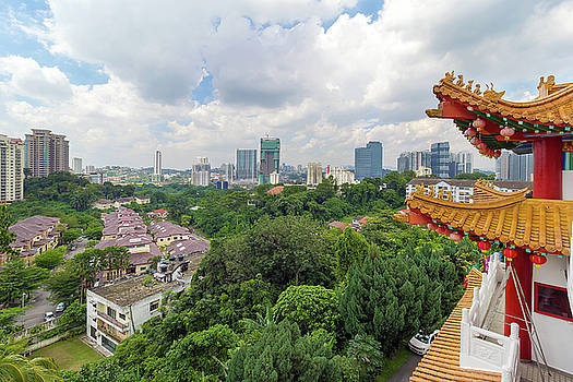 City View from Thean Hou Temple by Jit Lim