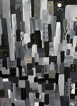 Cityscape 4 by Jose A Gonzalez