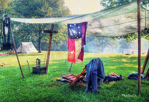 Civil War Camp by Mark Orr