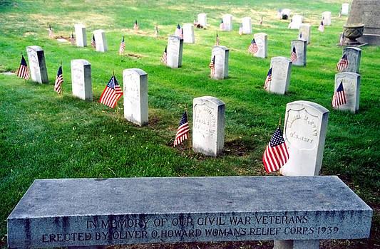 Steve Ohlsen - Civil War Vet Memorial