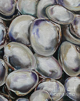 Clam Shells by Kristine Kainer
