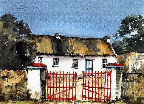 CLARE.. Marianne's Cottage, Ballyvaughan by Val Byrne