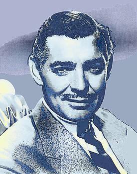 Clark Gable by Joy McKenzie