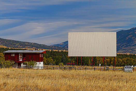 Classic American Retro Drive-In Theater by James BO  Insogna