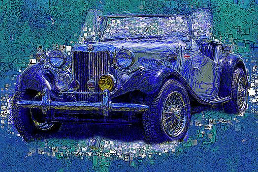 Jack Zulli - M G - Classic British Sports Car