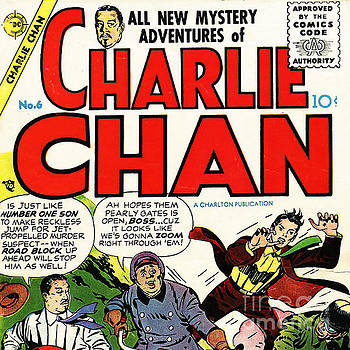 Wingsdomain Art and Photography - Classic Comic Book Cover Charlie Chan 6 square