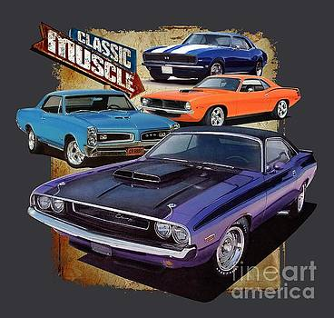 Classic Muscle by Paul Kuras