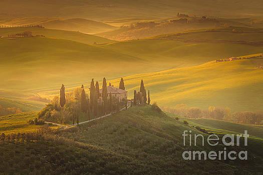 Classic Tuscan View by Pawel Klarecki