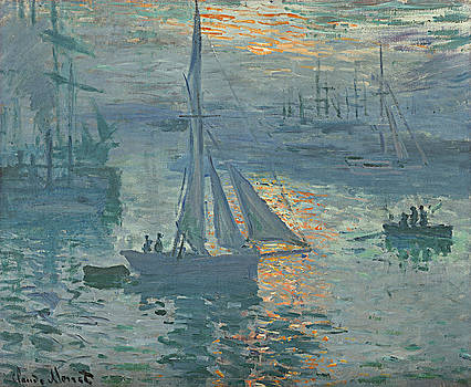 Bishopston Fine Art - Claude Monet Sunrise