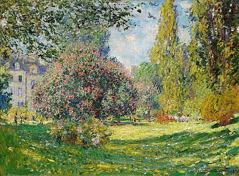 Claude Monet - The Parc Monceau by Bishopston Fine Art