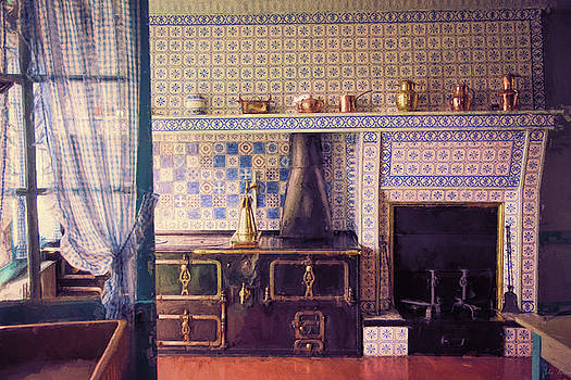 Claude Monet's Kitchen by John Rivera