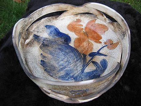 Clay Basket by Julia Van Dine