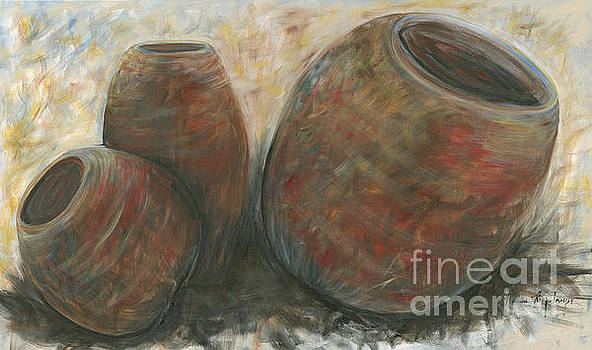 Clay Pots by Nadine Rippelmeyer
