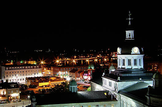 Clear Downtown Kingston Evening by Paul Wash