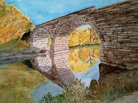 Clements Stone Bridge by B Kathleen Fannin