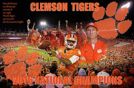 Clemson National Champs by Lynne Jenkins