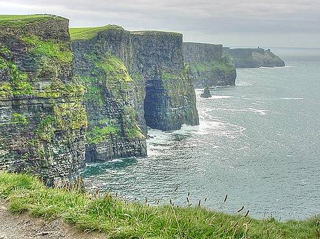 Cliffs of Moher County Clare by Deborah Squires
