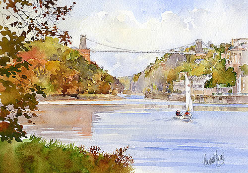 Clifton Bridge Bristol by Margaret Merry