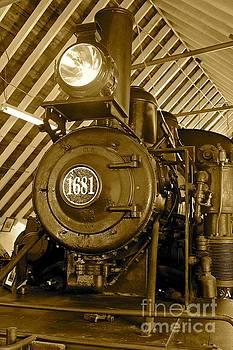 Climax Engine 1681 by Carol Fielding