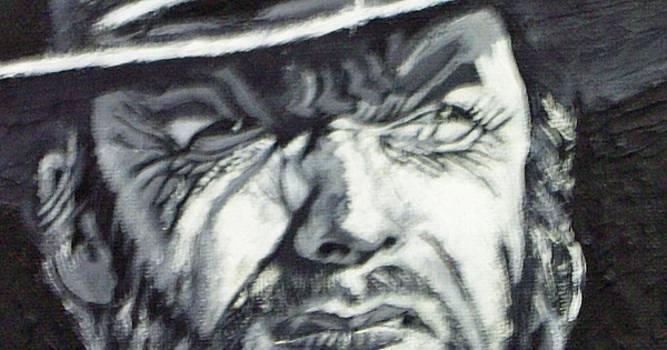 Clint  Eastwood by Paul Weerasekera