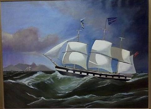 Clipper Ship by Brent Moody