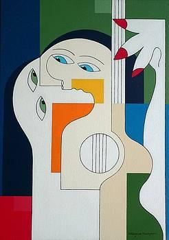 Close To Music by Hildegarde Handsaeme