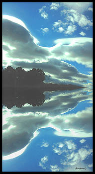 Cloud Drama Reflections by Anastasia Savage Ealy