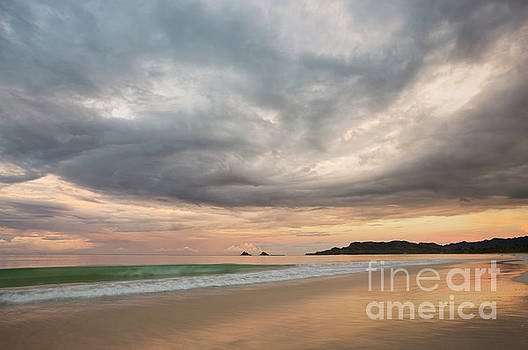 Cloud Formation over Kailua Beach by Charmian Vistaunet