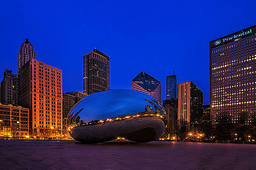 Cloud Gate at Twilight by Andrew Soundarajan