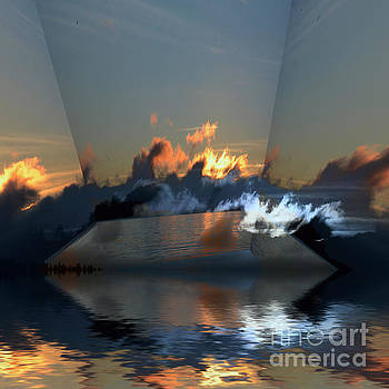 Cloud Reflections 4 by Elaine Hunter