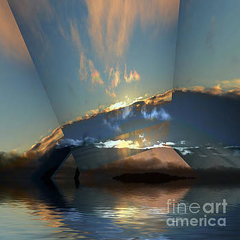 Cloud Reflections 5 by Elaine Hunter