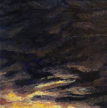 Cloud Study #5 by Jessica Tookey