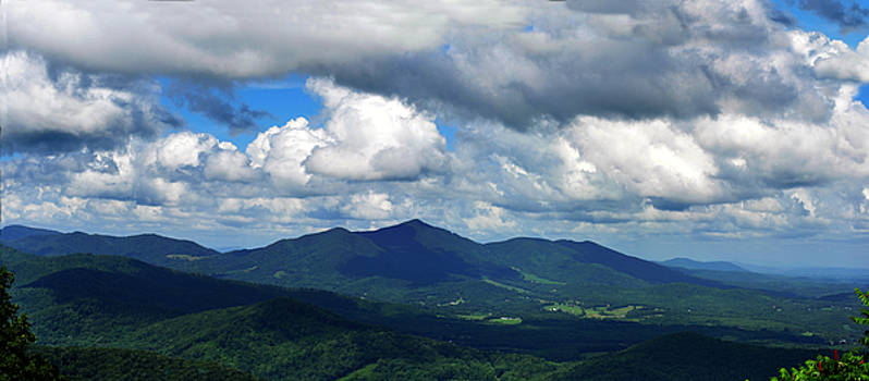 Clouded Landscape by Eric Liller
