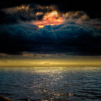 Clouds Across The Water by Bob Orsillo
