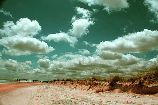 Clouds Exiting the Continent by Charles Shedd